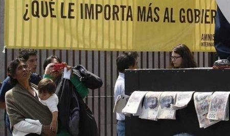 Amnistía Internacional denuncia que México haya firmado el ACTA y no acuerdos contra la pobreza