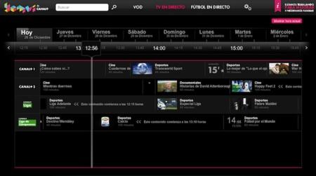 Canal+ Yomvi a prueba en VayaTele