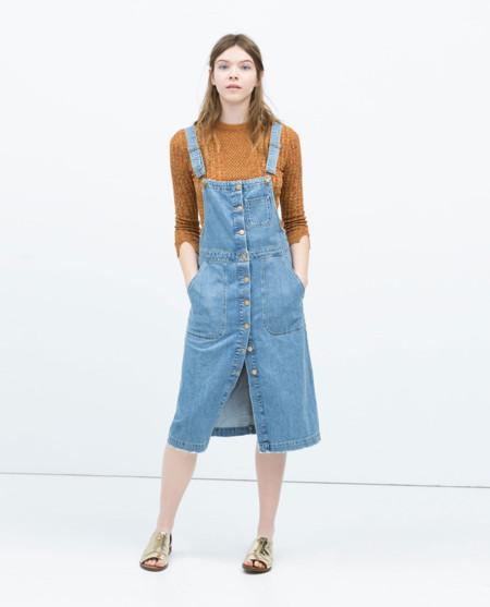 Zara Vestido Peto
