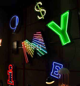 Letter Neon Graphic Lamp Fair