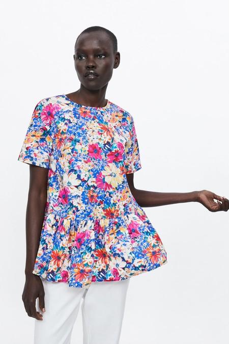 Zara Estampado Floral 12