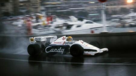 Senna Monaco F1 1984