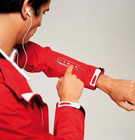 iJacket, chaqueta de Ermenegildo Zegna para usar el iPod