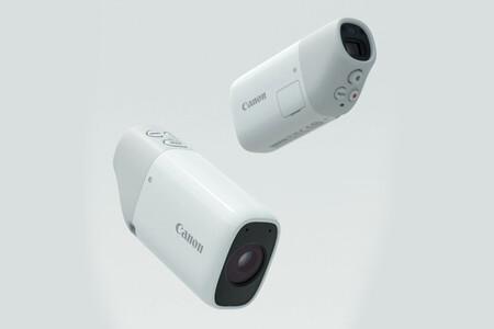 Canon PowerShot Zoom, una cámara exclusiva para Japón que llama la atención con su diseño poco convencional