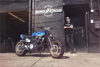 Yard Build Yamaha XJR1300 'Rhapsody in Blue'