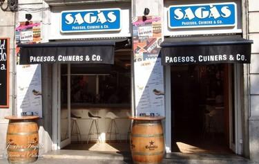 El restaurante Sagàs, pagesos, cuiners & Co., en Barcelona