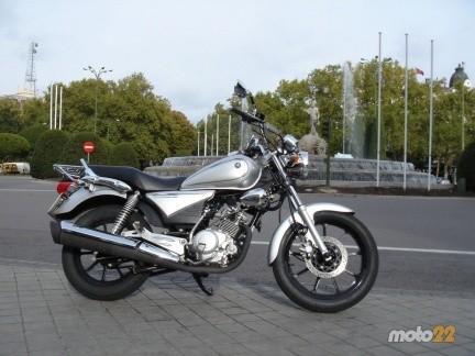 Yamaha YBR 125 Classic SP, la prueba (1/4)