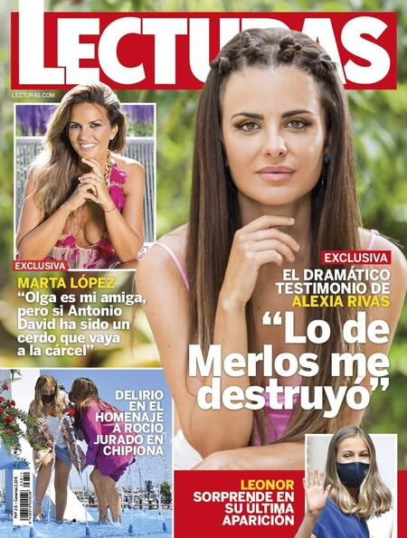 Marta López pone a caldo a Antonio David Flores a caldo en la revista 'Lecturas'
