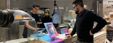 Buying without cash and with our face: this is how they experiment in Barcelona with the payments of the future