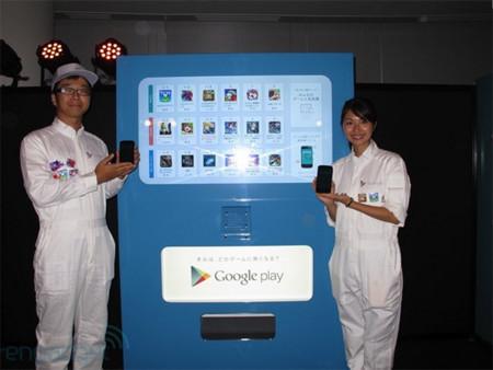 Máquinas expendedoras de... ¡juegos para Android!