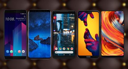 Los mejores móviles Android de gama alta de 2018