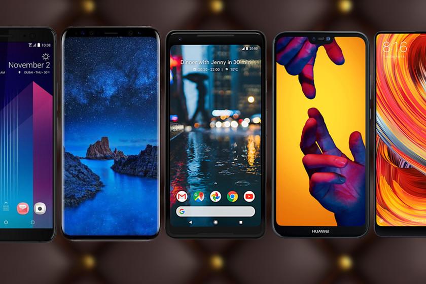 ea5b93fcd0f Los mejores móviles Android de gama alta de 2018