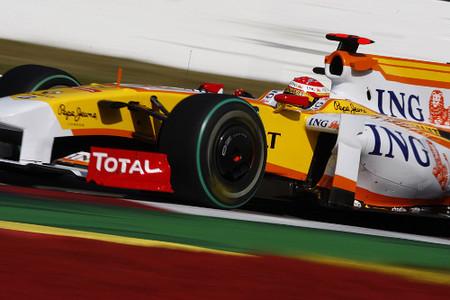 Fernando Alonso quinto en Monza por cortesía de Lewis Hamilton