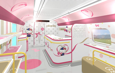 Tren Bala De Hello Kitty 5