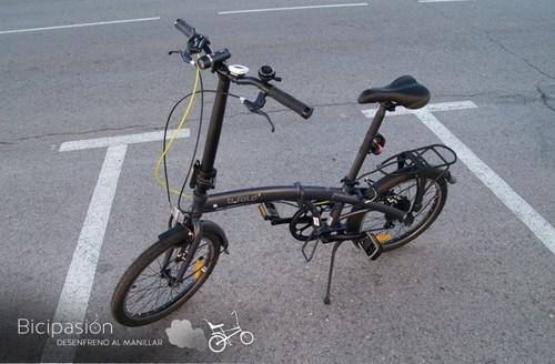 Las bicicletas plegables son ideales para la ciudad