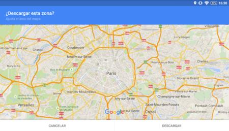 Así puedes utilizar Google Maps sin conexión y estas son sus limitaciones