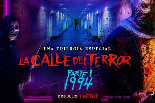 'La calle del terror - Parte 1: 1994' es una sangrienta gozada: Netflix inicia por todo lo alto la trilogía con una heredera sobrenatural de 'Scream'