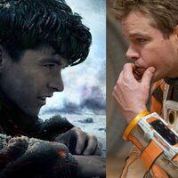 Las nueve mejores películas para ver gratis en abierto este fin de semana (20-22 de noviembre): 'Dunkerque', 'Marte (The Martian)' y más
