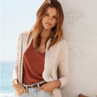En verano Edita Vilkevicute se viste de H&M