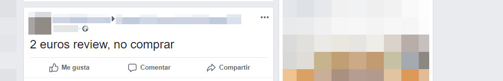 Captura de Facebook