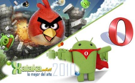 Angry Birds y Opera Mobile, mejor juego y mejor navegador web del 2010 en Xataka Móvil