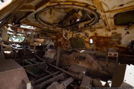 Tanques abandonados Eritrea