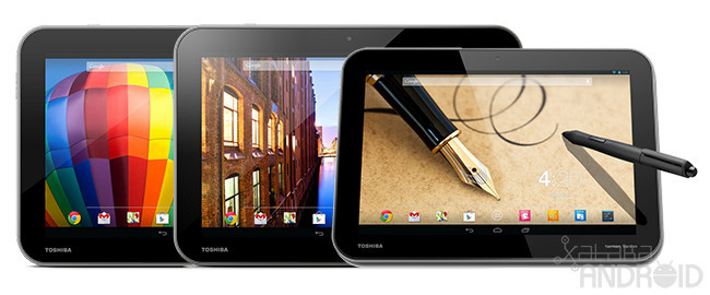 Toshiba Excite Pure, Excite Pure Pro y Write