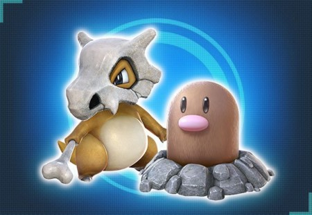 Pokken Tournament Cubone Digglet