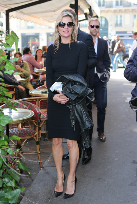 Famosas en la Semana de la Moda de París