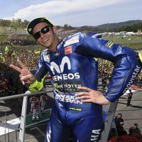 """Valentino Rossi: """"Estar segundo en el mundial es un gran resultado"""""""