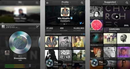 Llega Twitter Music para iOS y navegadores web
