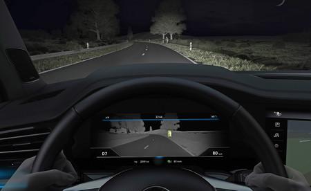 ¿Miedo a la oscuridad? El Volkswagen Touareg 2018 estrenará el sistema de visión nocturna de la marca