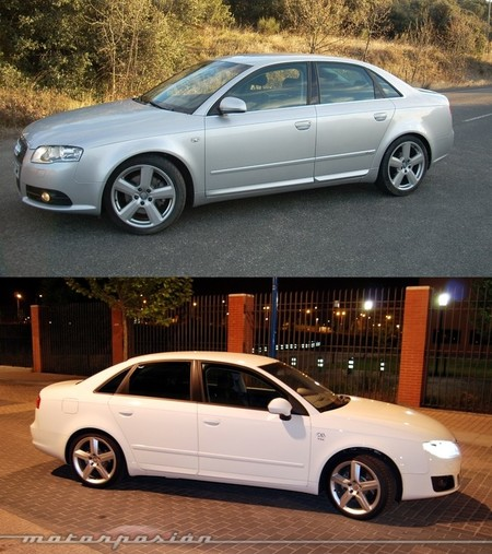 Audi A4 y SEAT Exeo