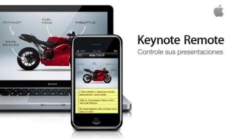 Keynote Remote, ya disponible en la AppStore