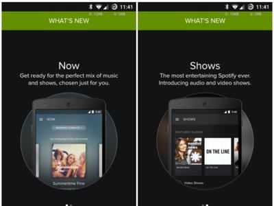 [APK] Spotify 3.1 llega con nuevo look