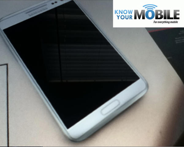 Galaxy Note 2 render leak 2