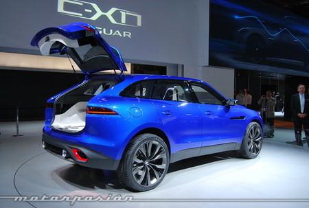 Salón de Frankfurt 2013 - Jaguar CX-17