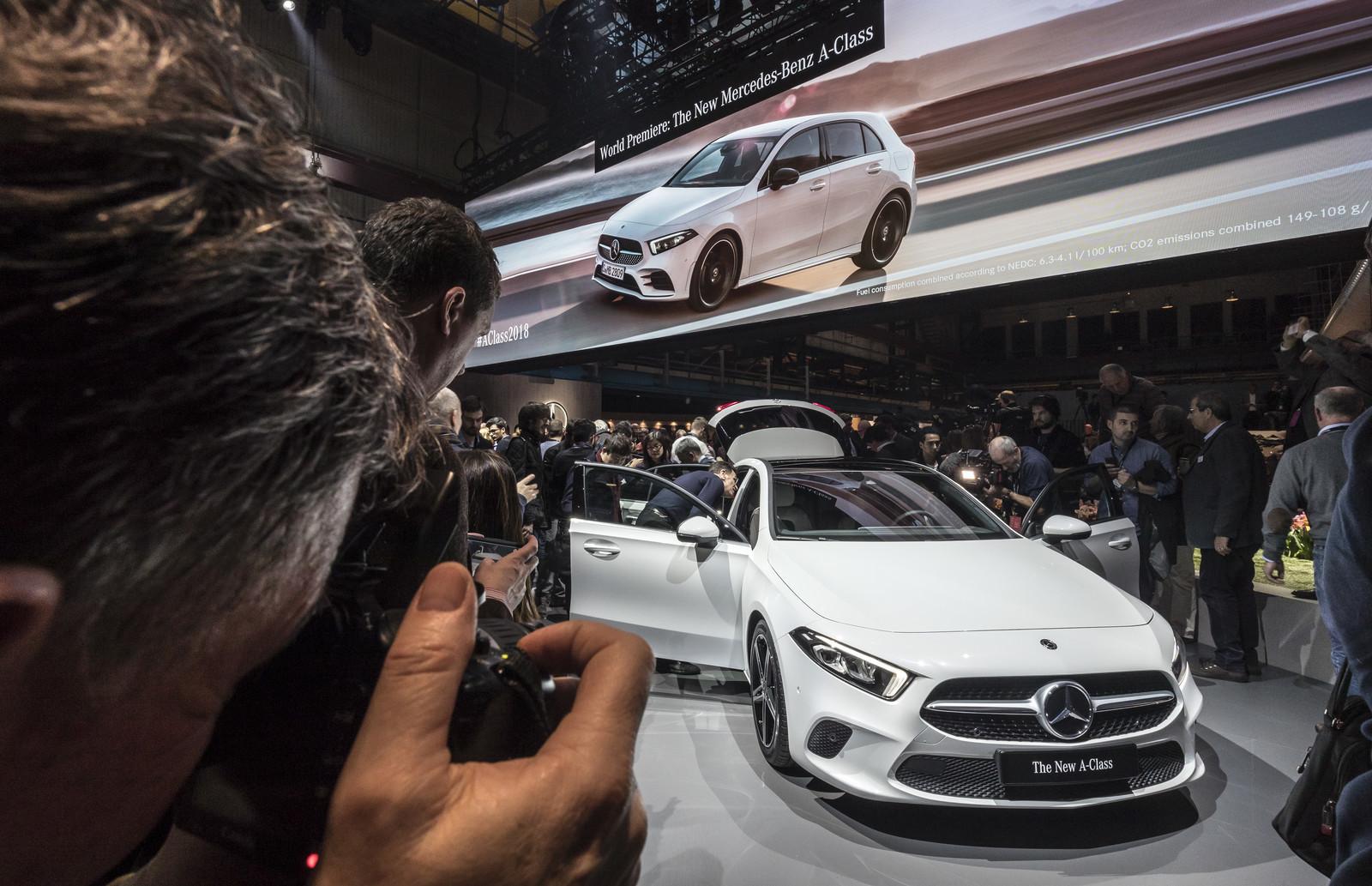 Foto de Mercedes-Benz Clase A 2018 - presentación (40/114)