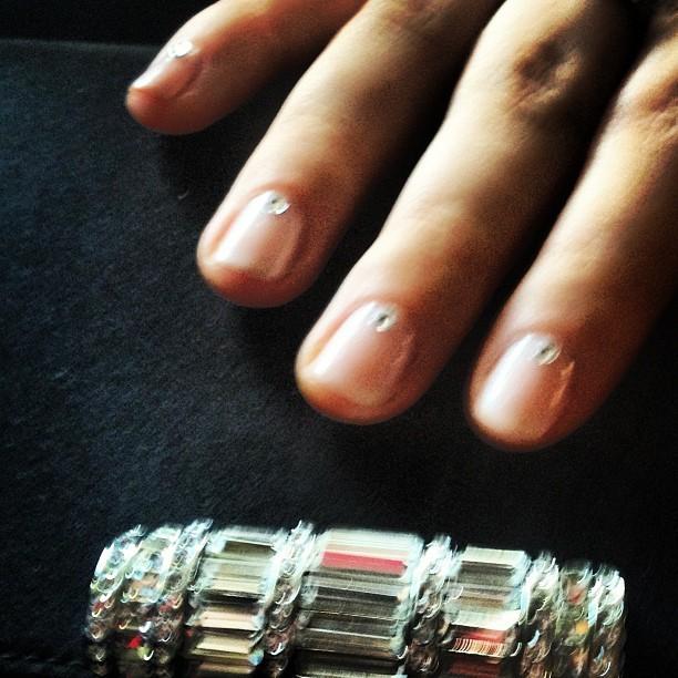 Sarah Hyland sag 2013 nail art