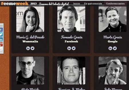 Talento digital concentrado en cuatro días: #eemeweek