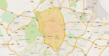 Mapa Madrid Restringido