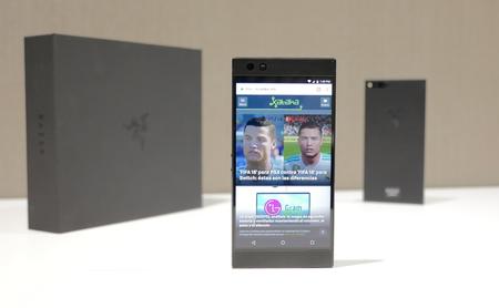 Razer Phone, toma de contacto: así es la gran apuesta de Razer por un móvil gaming con pantalla de 120 Hz