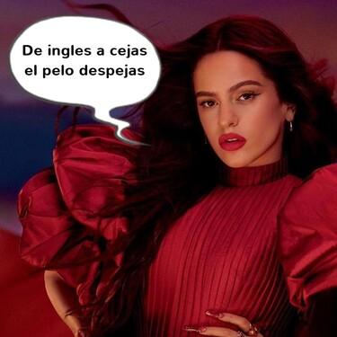 Más malota que nunca: Rosalía se parte la cejina (como Camarón)