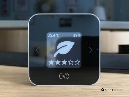 Probamos Eve Room, el sensor que mide la temperatura, humedad y calidad del aire en interiores
