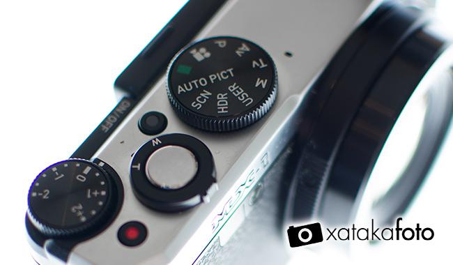Pentax MX-1, análisis