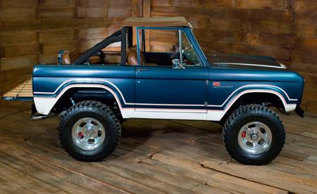El Ford Bronco de primera generación volverá a producción con el motor del Mustang