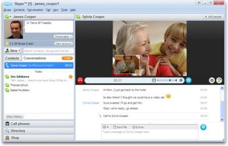 Skype 4.0 llega con novedades en vídeo y audio