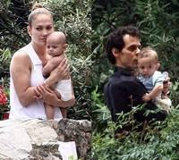 Jennifer Lopez y Marc Anthony de vacaciones con los clones de sus gemelos
