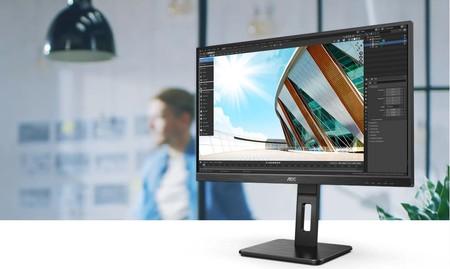 AOC estrena su nueva gama de monitores P2: una serie con 10 modelos con los que podrás trabajar y jugar desde casa