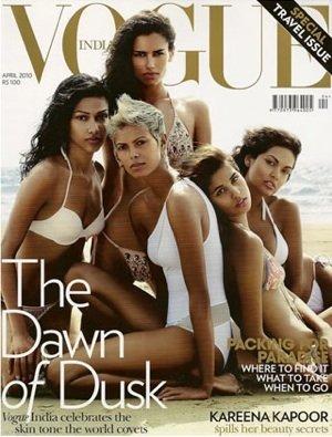 La portada de Vogue India contra la discriminación por el color de la piel